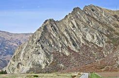 Bluff del Nevis vicino a Queenstown, Nuova Zelanda fotografia stock libera da diritti