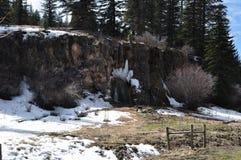 Bluff della primavera, New Mexico Immagini Stock Libere da Diritti