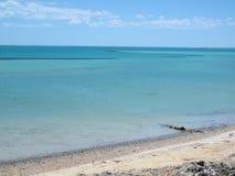 Bluff di Eagle, baia dello squalo, Australia occidentale Fotografie Stock Libere da Diritti