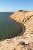Bluff di Eagle, baia dello squalo, Australia occidentale Immagine Stock Libera da Diritti