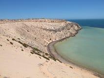 Bluff di Eagle, baia dello squalo, Australia occidentale Fotografie Stock
