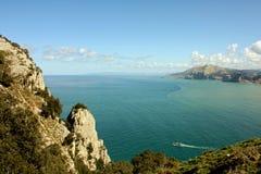 Bluff i Spanien Royaltyfri Fotografi