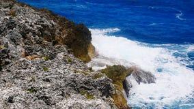 Bluff på Pedro, St James Cayman Islands i det karibiskt royaltyfria bilder