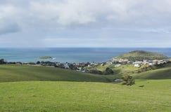 Bluffen och församlingen, Victor Harbor, södra Australien Del av Royaltyfria Foton