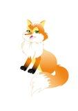 bluffing αλεπού redhead Στοκ Φωτογραφία