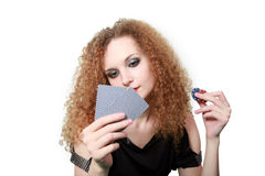 Bluffing or not bluffing? Royalty Free Stock Photo
