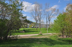 Bluffmakaren parkerar PÅ Toronto royaltyfri fotografi