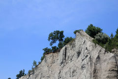 Bluffs. On the background of blue sky Stock Image
