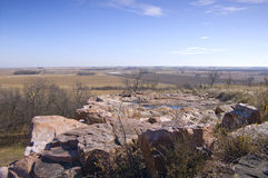 Bluffs and Beyond at Blue Mounds State Park Stock Photos