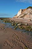 Bluffs d'argile Images stock