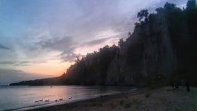 Bluffs de Scarborough photo libre de droits