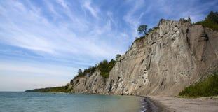 Bluffs de Scarborough photographie stock libre de droits