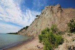 Bluffs de Scarborough Photos stock