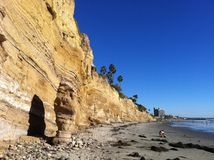 Bluffs At La Jolla Stock Photos