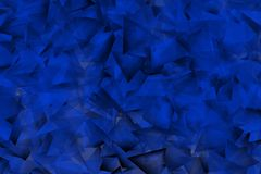 Bluish background with triangles and fine shadows. Bluish backgroud with powerful shadows Royalty Free Stock Photo