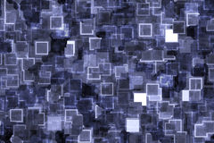 Bluish Blue Techno Background Royalty Free Stock Photography