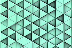 Bluish background with bluish triangles and shadows royalty free stock images
