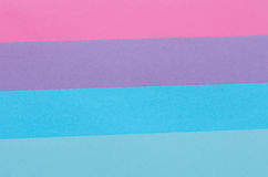 Bluish construction paper stripes Royalty Free Stock Image