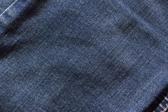 bluish denim texture Stock Images