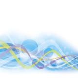 Bluish flow Stock Image