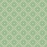 Bluish Green Colors Square grid Pattern design. Korean tradition Stock Photos