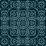 Bluish Green Colors Square grid Pattern design. Original Pattern Stock Photo