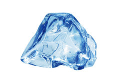 Bluish ice cube Royalty Free Stock Photo