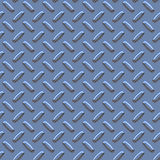 Bluish metal diamond pattern Stock Image