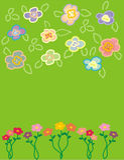 Blume Vektor Abbildung