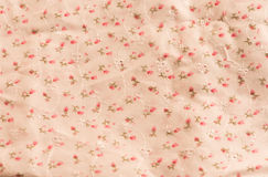 Blume auf weißem nahtlosem Musterhintergrund Stockfotografie