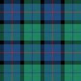 Blume des nahtlosen Musters der Schottland-Schottenstoffgewebe-Beschaffenheit Lizenzfreies Stockbild