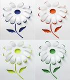 Blume des Papiers Stockbild