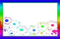 Blume des Rahmenfreien raumes Lizenzfreie Stockfotos