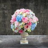Blume in einem Vase lizenzfreies stockbild