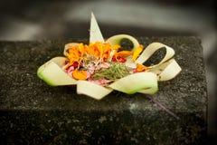 Blume gesponnener Bambus Lizenzfreie Stockfotografie