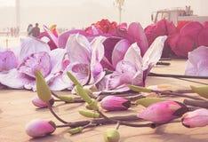Blume ` s Installation in Peking lizenzfreie stockbilder