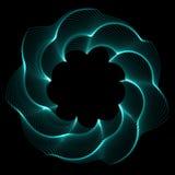 Blume Spirograph-Pendelfoto Lizenzfreies Stockbild