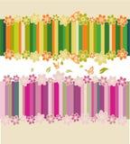 Blume und Basisrecheneinheiten Lizenzfreie Stockfotos