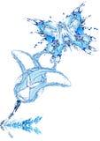 Blume und die Basisrecheneinheit Stockfoto
