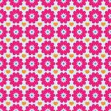 Blume und Liebes-Hintergrund-Muster Stockbilder