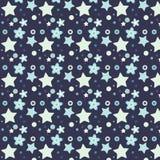 Blume und Stern Verschiedene Varianten der Farbe sind möglich Stockbild
