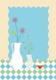 Blume und Vase Stockfotos