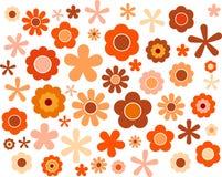 Blume, Vektorillustration Stockfotografie