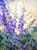 Blumen-Öl-Digital-Malerei