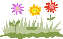 Blumen lizenzfreie abbildung