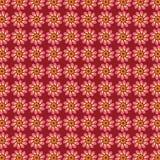 Blumen-abstraktes Vektor-Muster Lizenzfreie Stockfotos