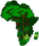 Blumen-Afrika - Vektorillustration Lizenzfreies Stockbild