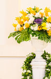Blumen-Anordnung Lizenzfreies Stockbild