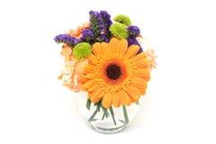 Blumen-Anordnung in einem Vase Lizenzfreie Stockbilder