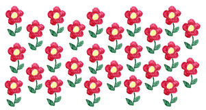 Blumen-Aquarell Vektor Abbildung